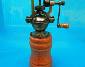 Mahogany Antique Style Peppermill