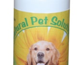 Natural Pet Solutions herbal dog spray - Kills fleas, ticks and lice 4oz.