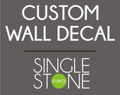 Custom Wall Decal for Jordan on Etsy