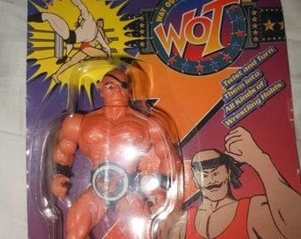 moc wrestling figure 1980's - way out wrestling - wwf wwe remco
