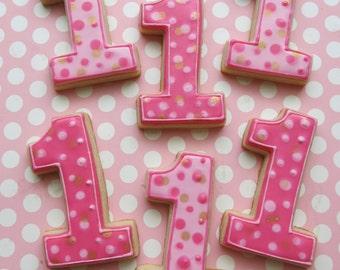 Number One Sugar Cookies - 1 Dozen