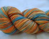 handdyed yarn -  100g/3,5 oz. -  Colour Bee-Eater1