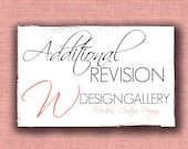 Additional Revisions to your design, past your complimentary revision