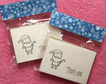 Ready to Color Holiday Thank You Notes, Great for Kids!  With crayons!