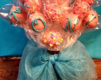 Gluten-free  Cake Pops Or Cake Balls for all occasions 24 cake  pops 2 dozen