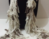 ManHandled Mufflers (a unique cross between a scarf and a fiber necklace)