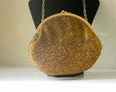 Copper Bead Evening Bag, Retro Glamour, Just Reduced, Vintage