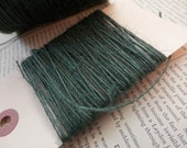 JUTE TWINE BURLAP String Pine Green Thin Strong