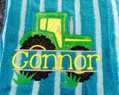 Tractor towel
