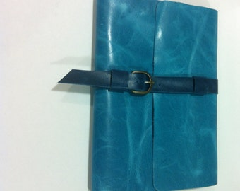 Notebook Leather Cover,Hand sewn Journals,Thanksgiving Gift made  in NYC By Nadirabag