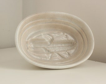 19th C. English Pudding Mold, Corn Cob Design