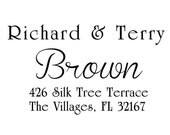 custom address stamp,SELF INKING Return address stamp,personalized stamp,wedding stamp,S08
