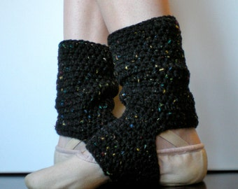 PATTERN:  Warmers, Easy Crochet Dance, Ballet, Leg Warmers, yoga socks, teen adult, ankle, black, InsTaNT DowNLoaD, Permission to Sell
