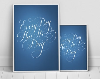Typographic Poster PSD Template