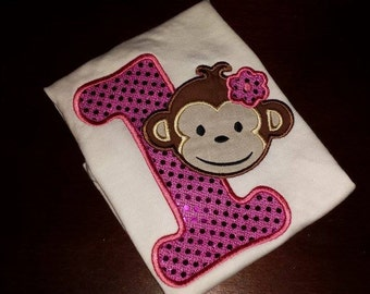 Monkey Birthday shirt