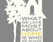 "What We LOVE Most - 5x7"" - Digital Download - Printable"