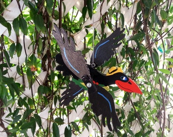 Crow Whirlygig