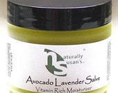 MOISTURIZERS - Avocado Lavender Salve - All Natural Nourishing
