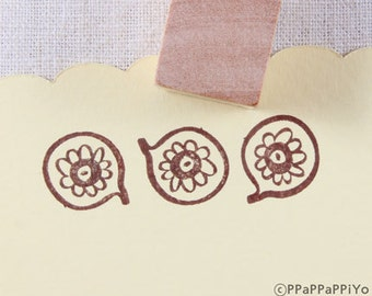 pattern Rubber 08 Stamp