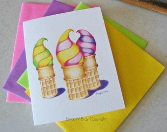 Summer Treat Greeting Card