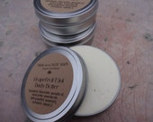 Whipped Body Butter, 4 oz., Orange Cocoa, 100% Natural Body Lotion, Shea Body Butter