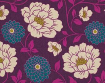 Joel Dewberry Fabric - 1 Fat Quarter Bungalow -  Dahlia in Lavender / Free Spirit Fabric