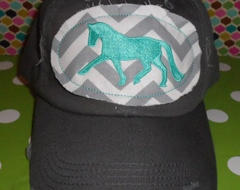 Made-To-Order Dressage Applique Cap