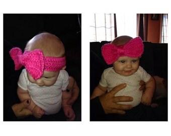 baby crocheted headbands