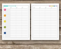 Printable Lesson Planner Pages - Teacher Home School Day Planner