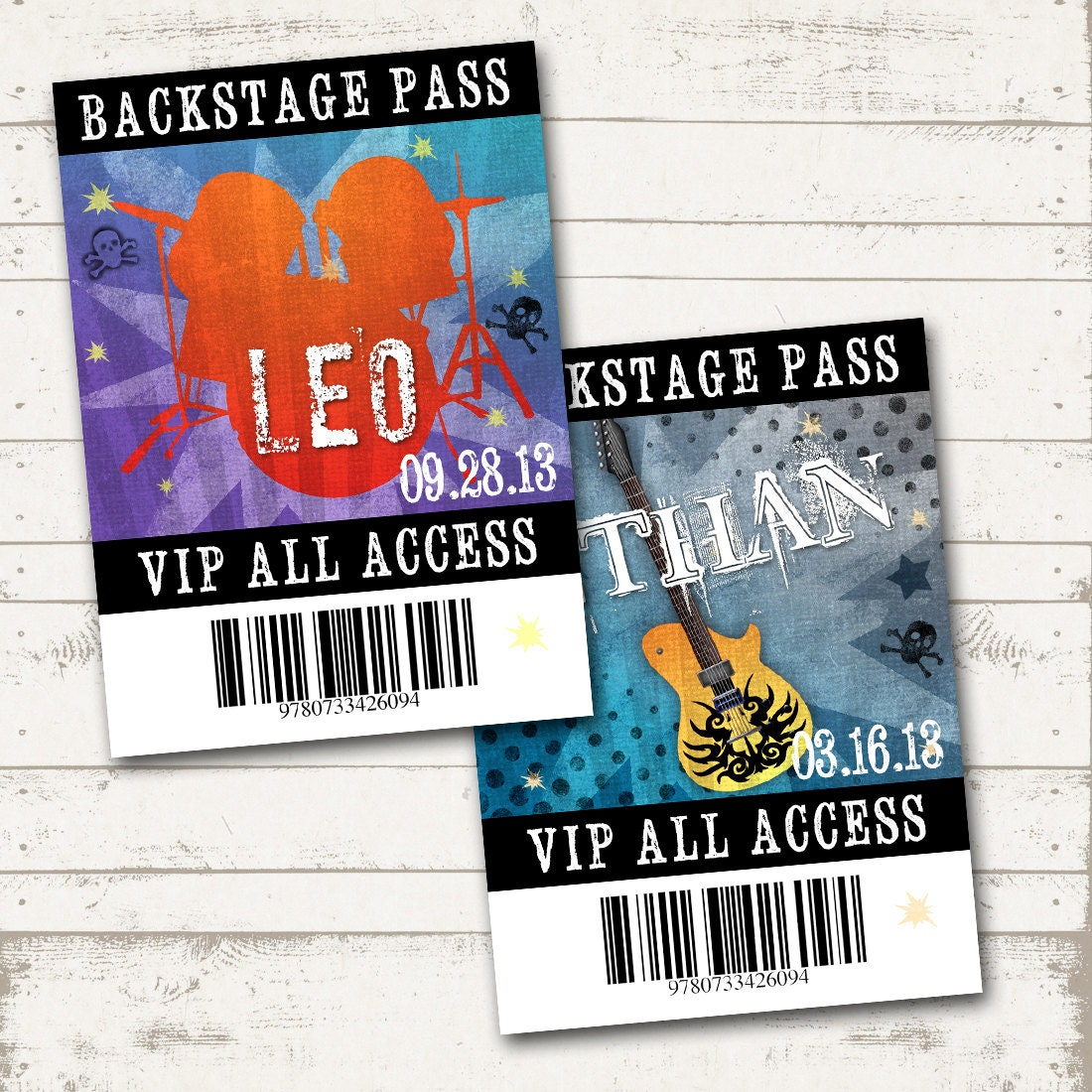 Magnificent Backstage Pass Template Sketch - Example Resume and ...
