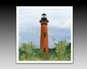 Currituck Lighthouse Ceramic Tile with Hook