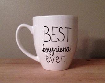 Best Boyfriend Ever mug, Boyfriend Mug, valentines's day mug, gift for men