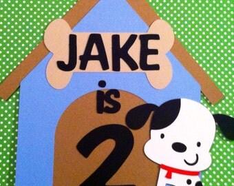 Puppy Theme Door Sign, Puppy Birthday Decorations, Dog Birthday Decorations, Puppy Centerpieces, Party Supplies, First Birthday, Its A Boy