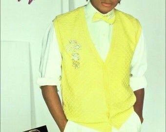 """Michael Jackson Collectibles Yellow Sweater """"Thriller"""" Stand-Up Display Michael Jackson Autograph Collection Memorabilia Concert Poster Gift"""