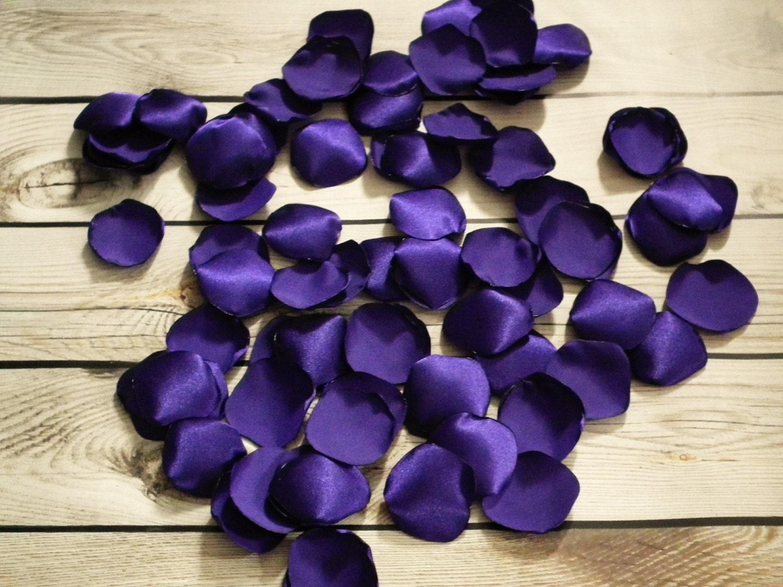 PURPLE Rose Petals For Wedding Basket Or Aisle Table Decor