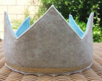 Boys Felt Birthday Crown