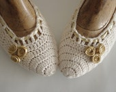 Bridal wedding dance shoes Ivory  Party Bridesmaid