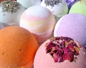 Bath Bomb Box - Set of 6 - Moisturizing Natural Vegan Bath Bomb Fizzy - You pick the scents
