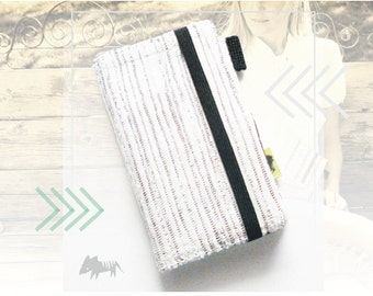 White Birch Wallet.  Chic iphone wallet white and grey iPhone case ipod case iphone 5 cell phone wallet phone accessory case womens wallet