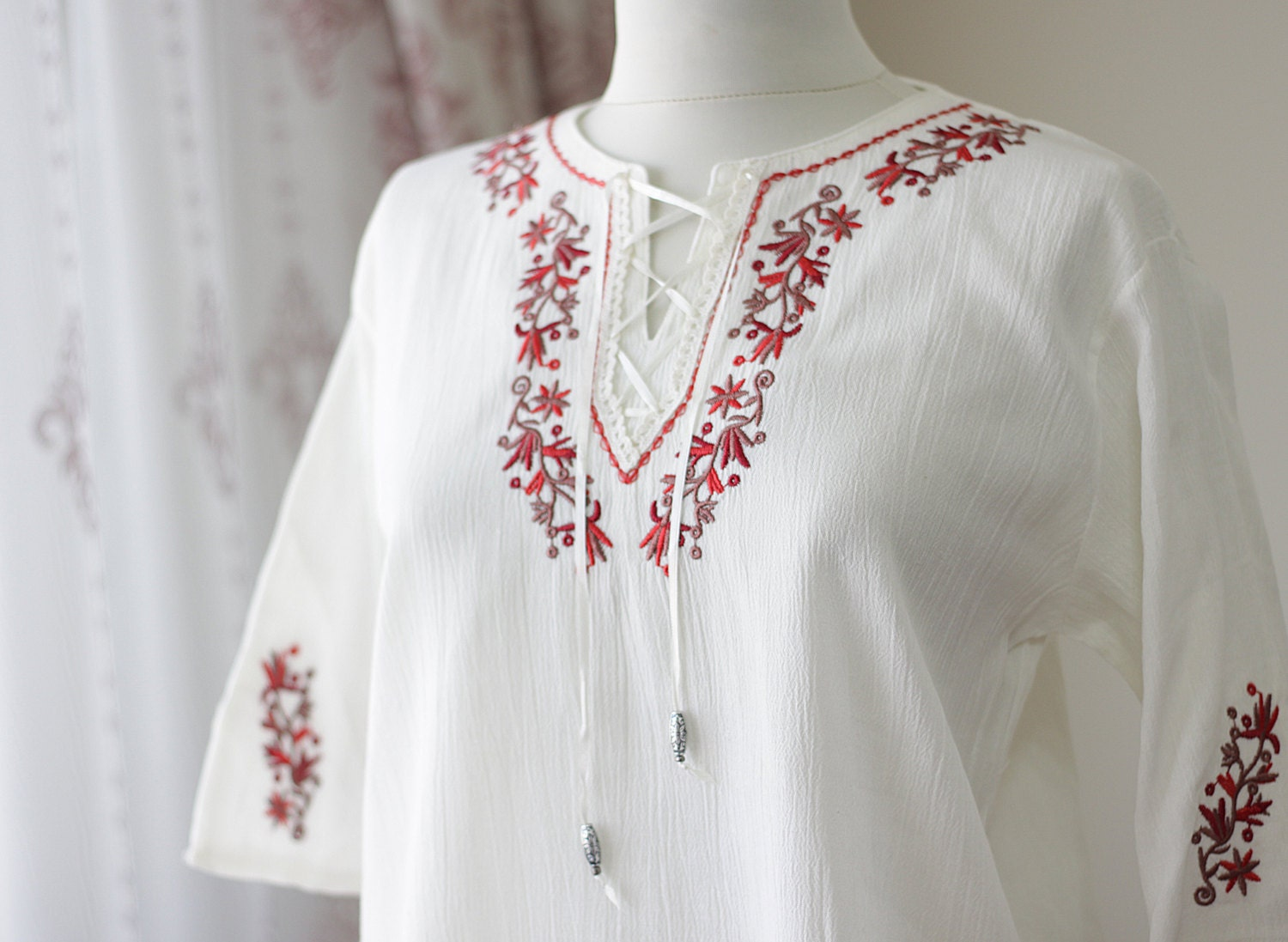 Womens Peasant Blouse Sale 59