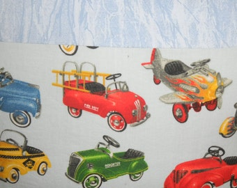 Cute cars little boys pillow cover  16""