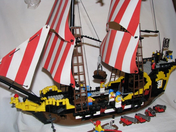 Lego Pirate Ship Instructions 6285 Save Our Oceans