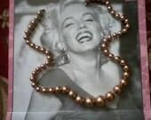 Matte Gold Necklace