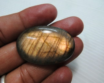 Gorgeous Full Flashy Amazing Fire Labradorite Cabochon Good Quality Oval Shape Size 26X38 mm Approx