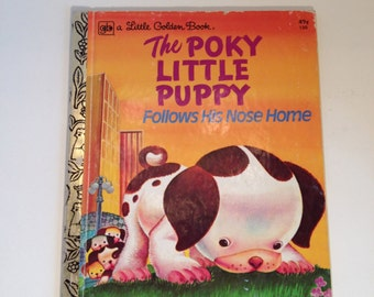 The Poky Little Puppy A Little Golden Book #130 49 cents 1975