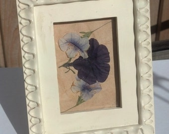 A Touch of Romance Pressed Flower Art