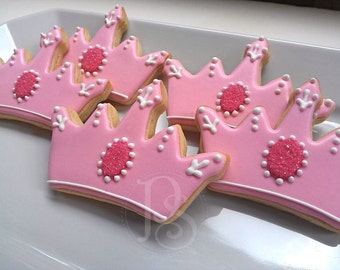 Princess Tiara Cookies