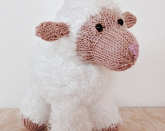Knitted White Lamb