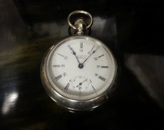 7 Jewel Waltham Pocket watch made 1909