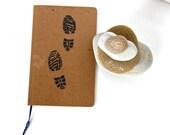 Hiking Notebook Hiking Journal Travelers Notebook Diary Sketchbook